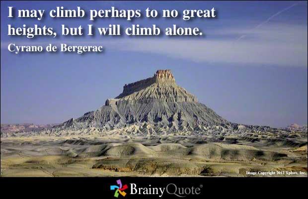 Climb quote #1
