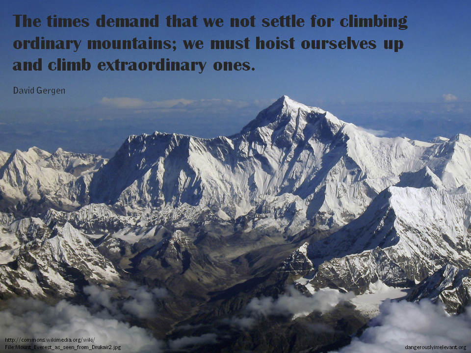 Climbers quote #2