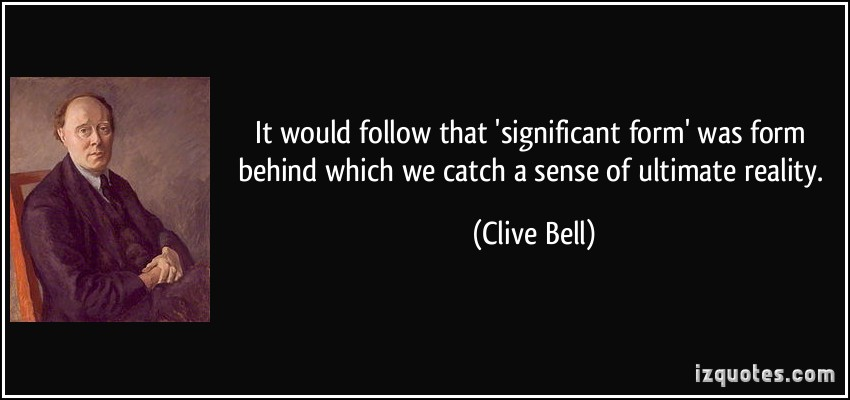 Clive Bell's quote #2