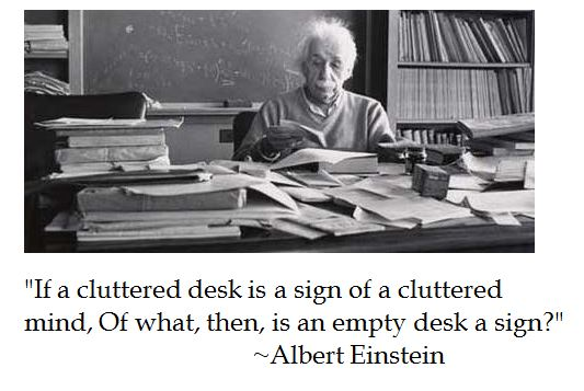 Cluttered quote #2