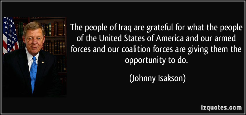 Coalition Forces quote #2