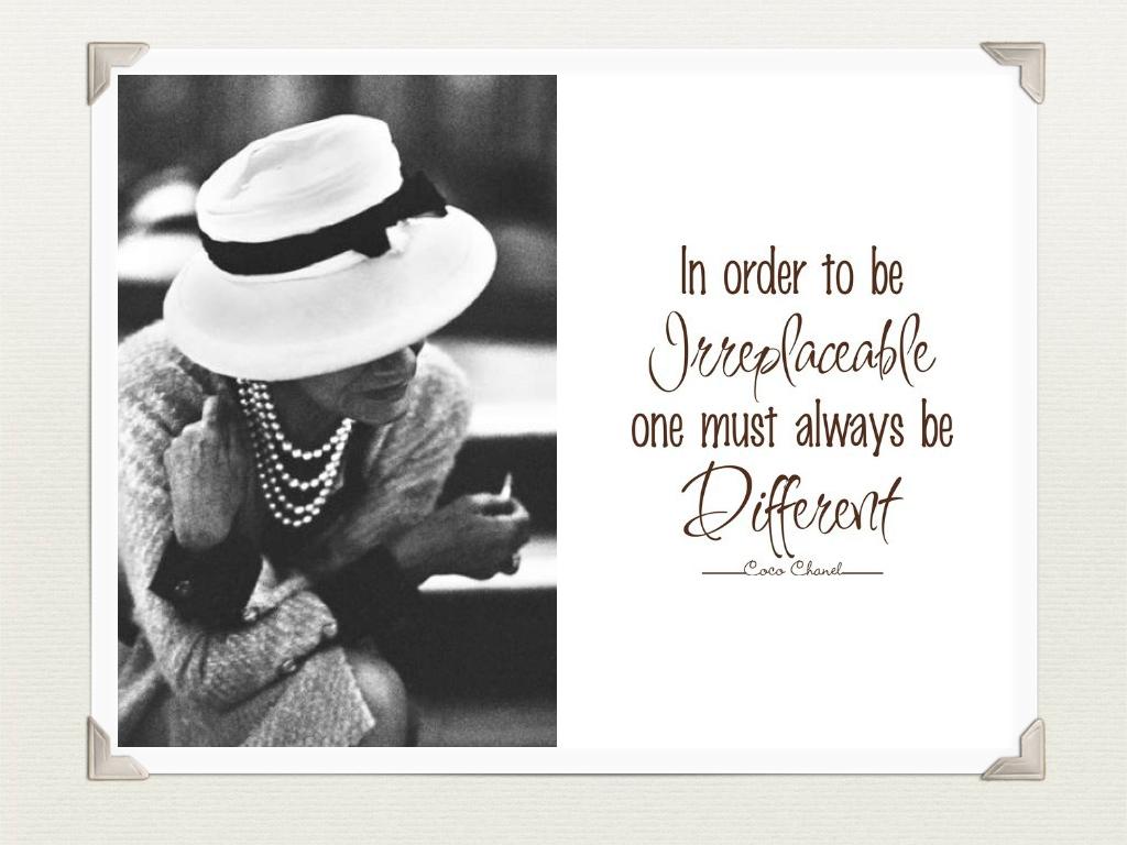 Coco Chanel's quote #1
