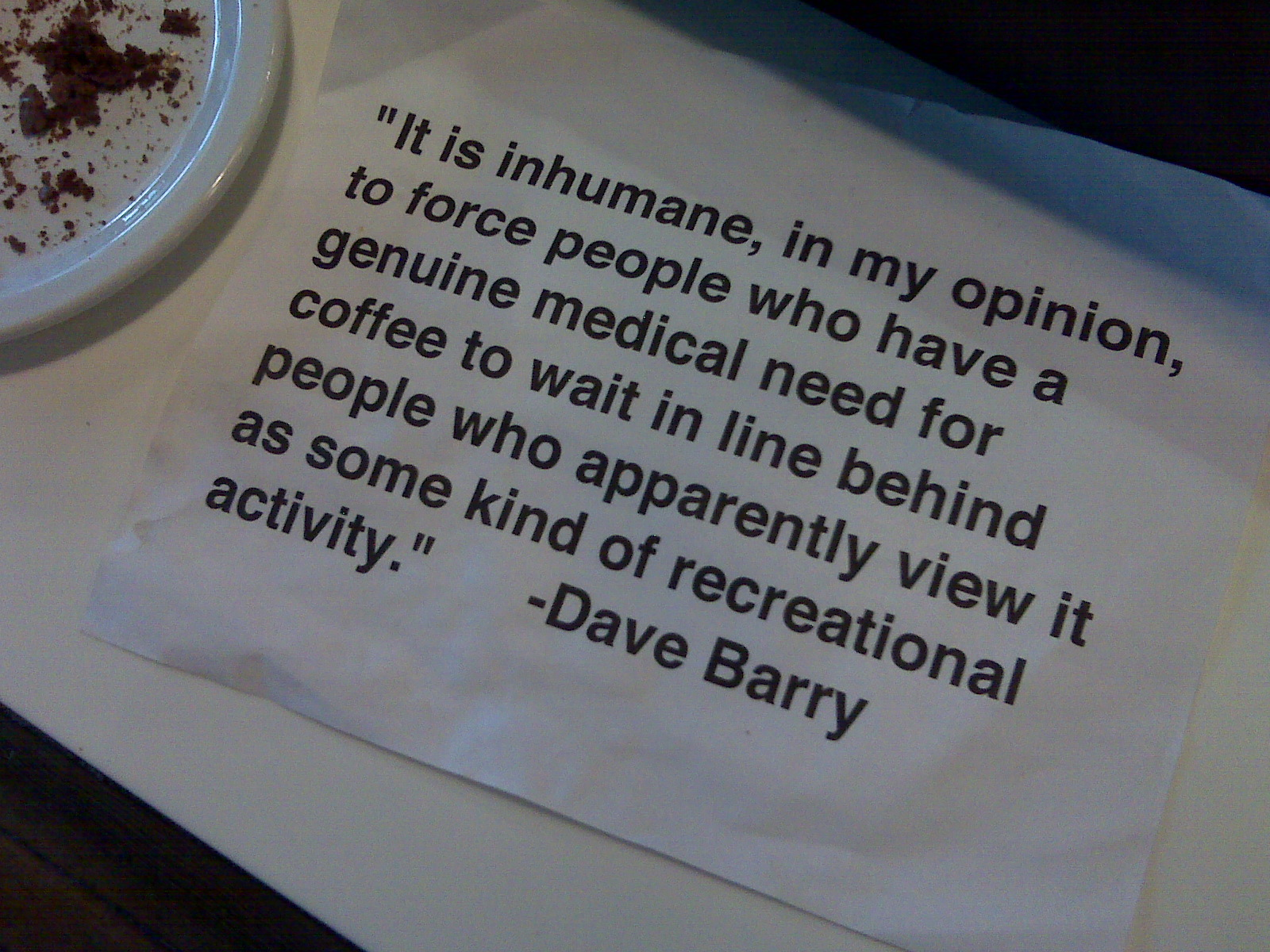 Coffee quote #4
