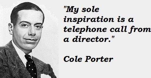 Cole Porter quote #1