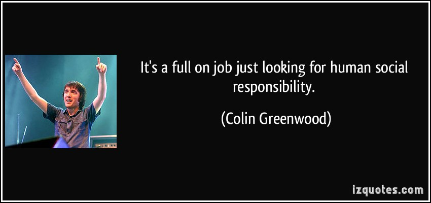 Colin Greenwood's quote #4