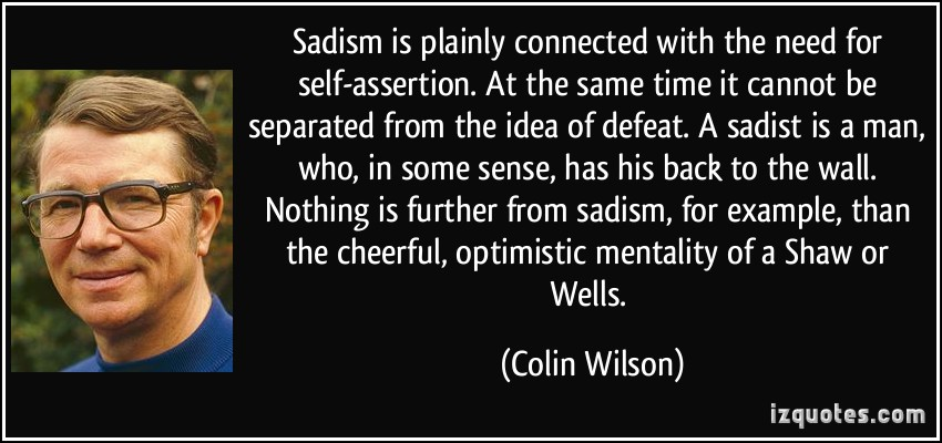 Colin Wilson's quote #1
