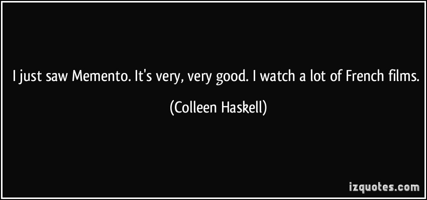 Colleen Haskell's quote #6