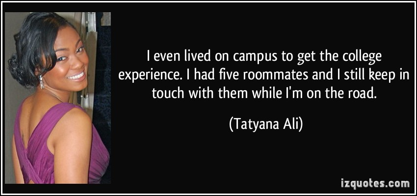 College Experience quote #1