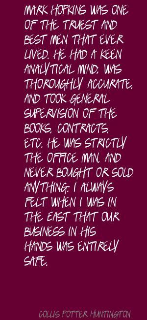 Collis Potter Huntington's quote #7