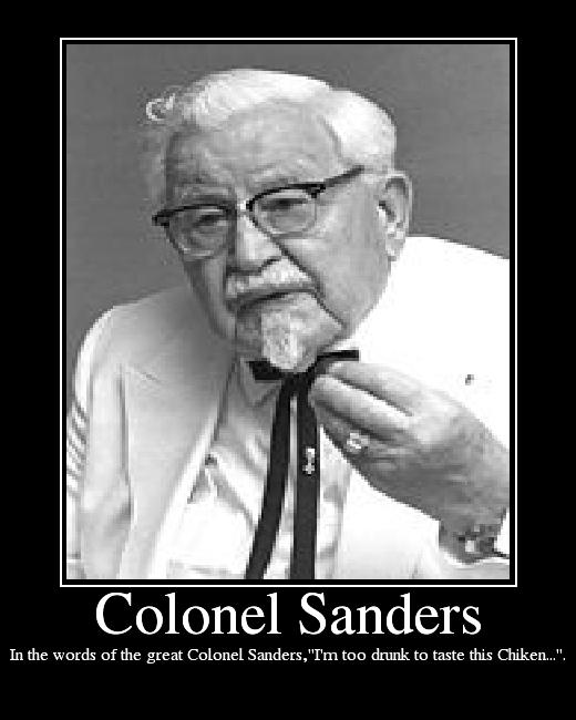 Colonel Sanders's quote #3