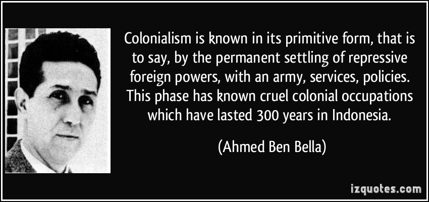 Colonialism quote #1