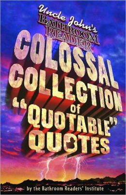 Colossal quote #1
