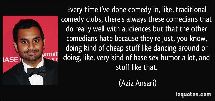 Comedy Club quote #1