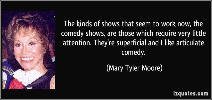 Comedy Shows quote #1