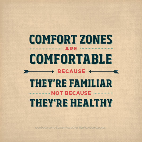 Comfortable quote #1