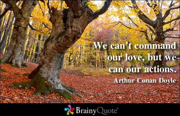 Commanding quote