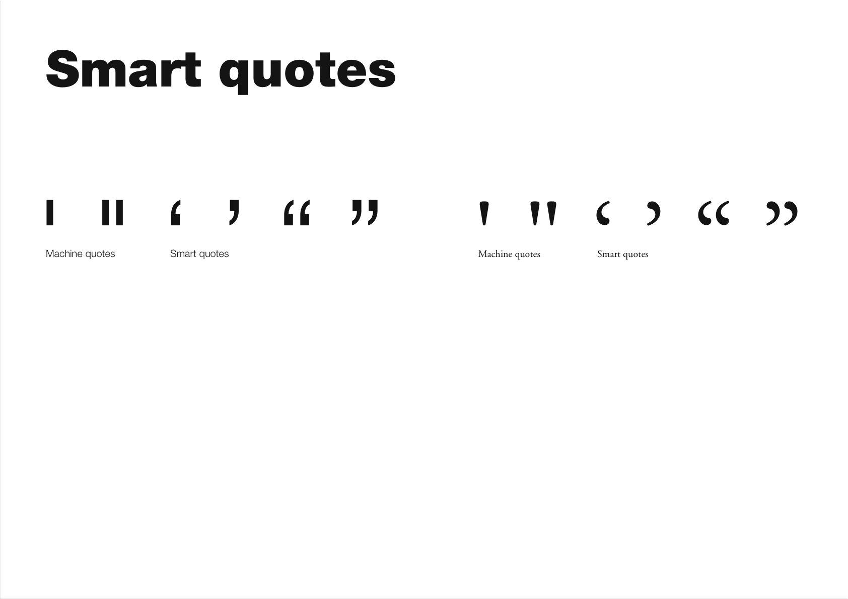 Commas quote