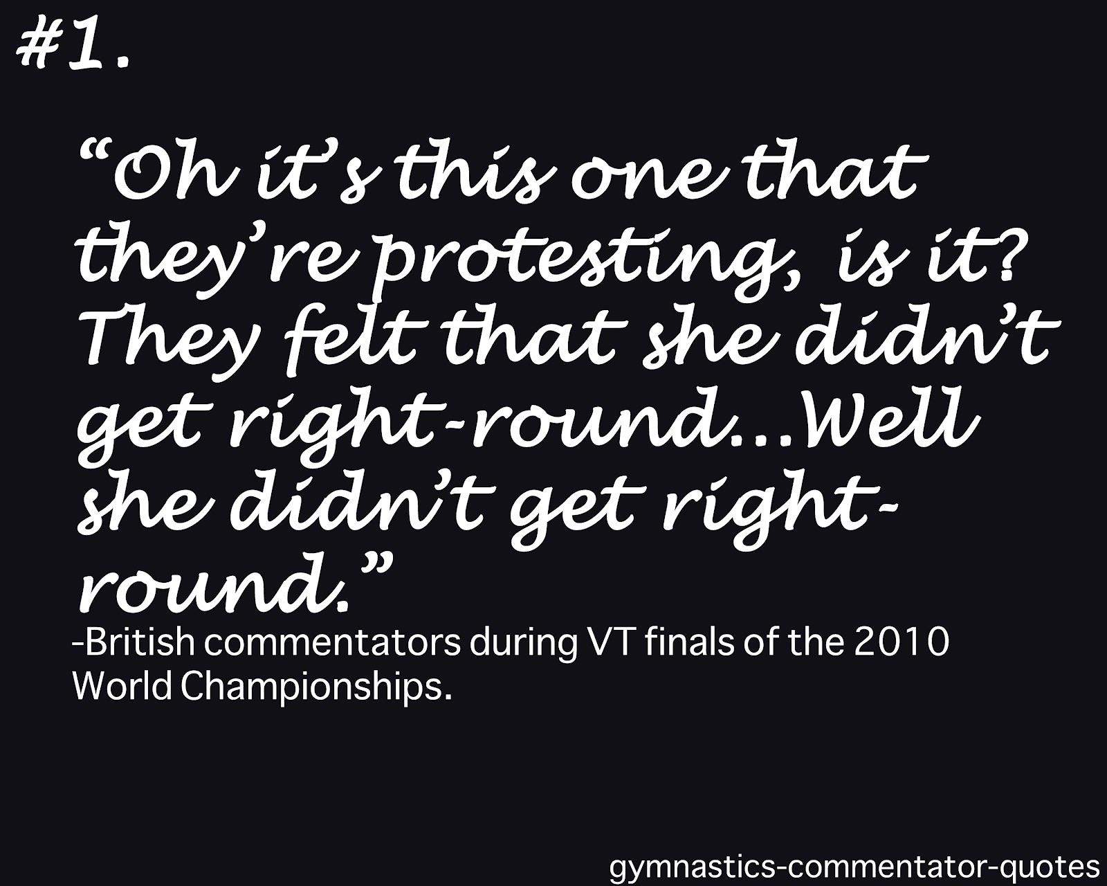 Commentator quote #2