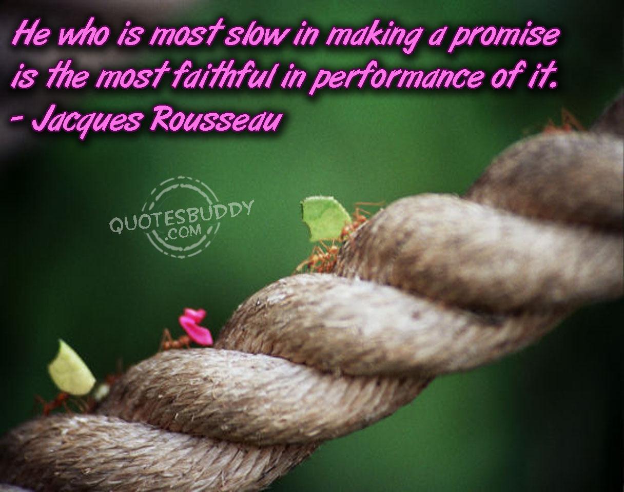 Commitment quote #1
