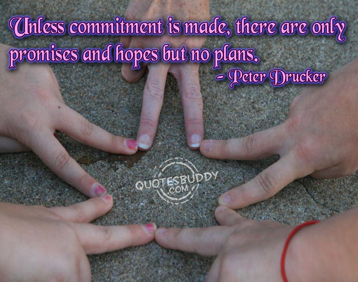 Commitment quote #3