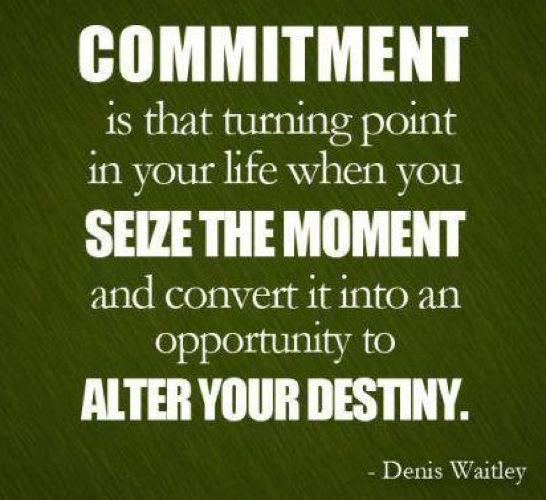 Commitment quote #5