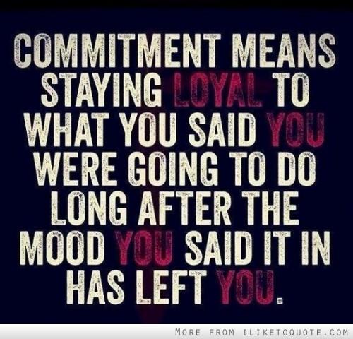 Commitment quote #6