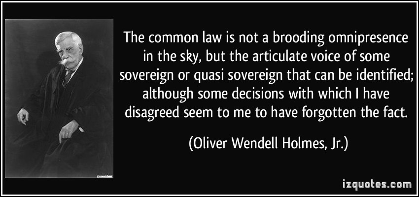 Common Law quote #1