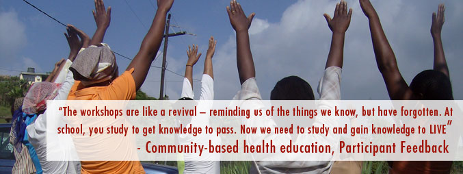 Community-Based quote #1