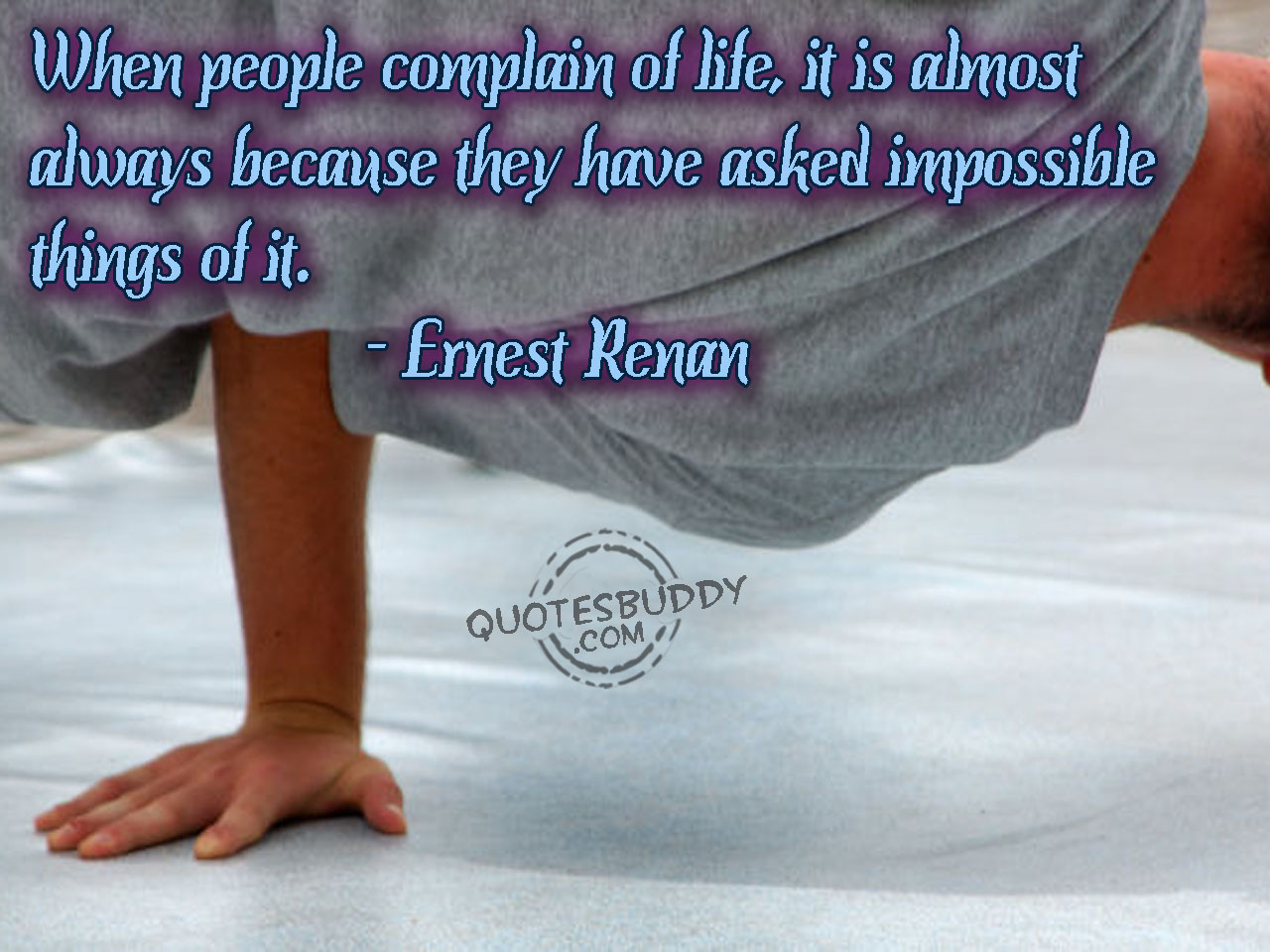 Complain quote #2