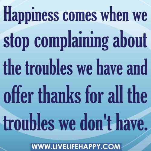 Complain quote #5