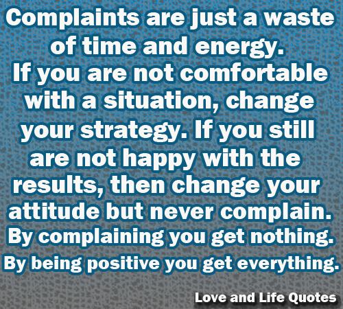Complaints quote #2