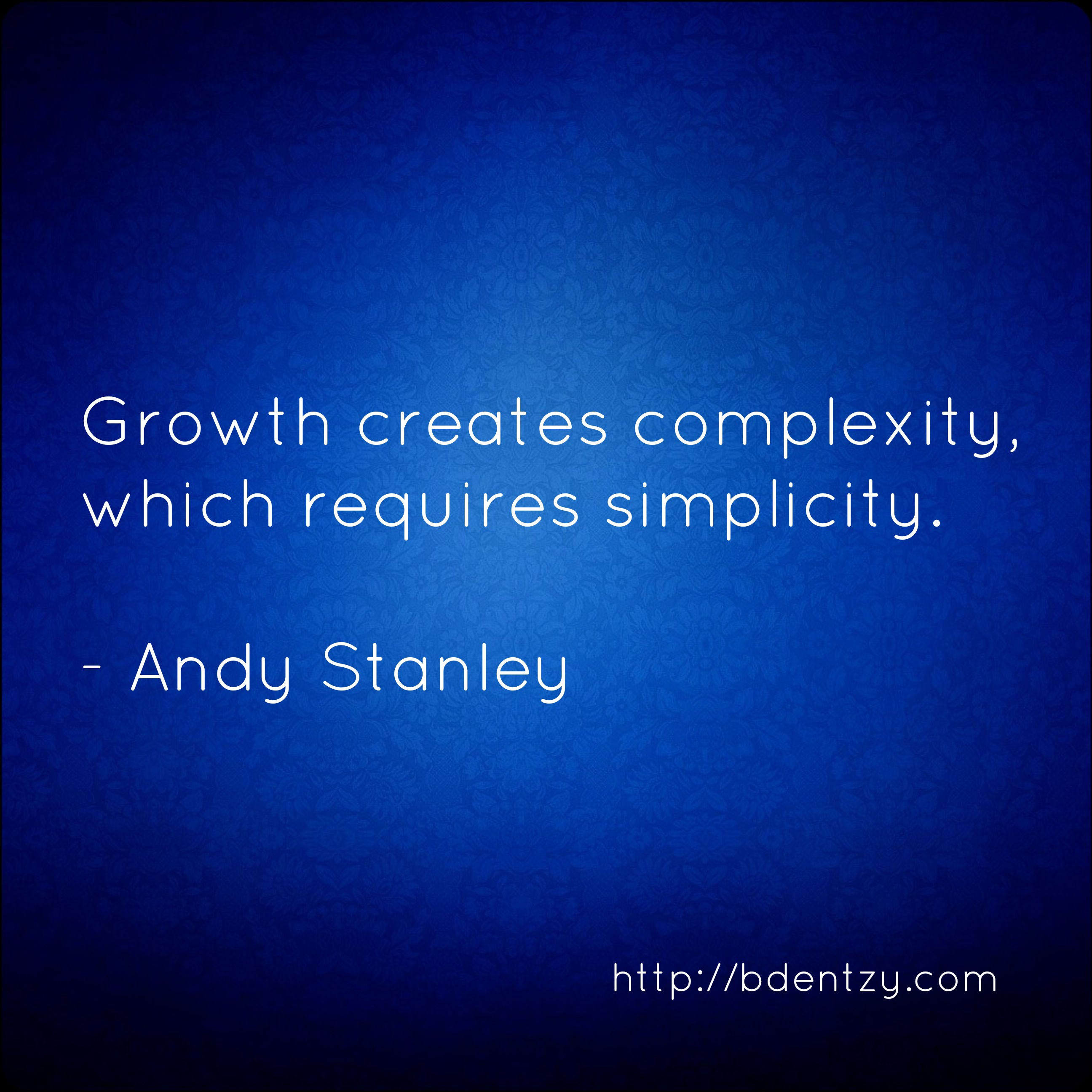 Complexity quote