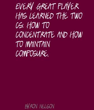 Composure quote #2