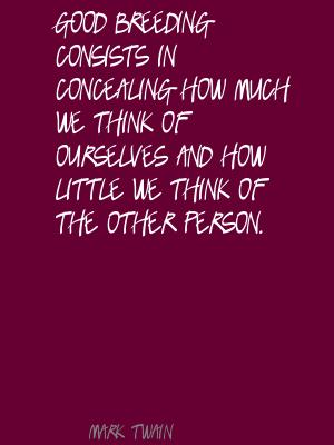 Concealing quote #1