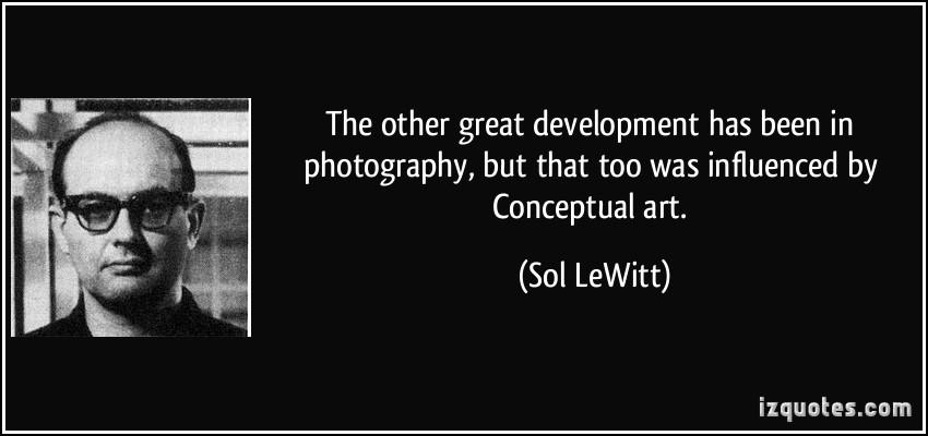 Conceptual Art quote