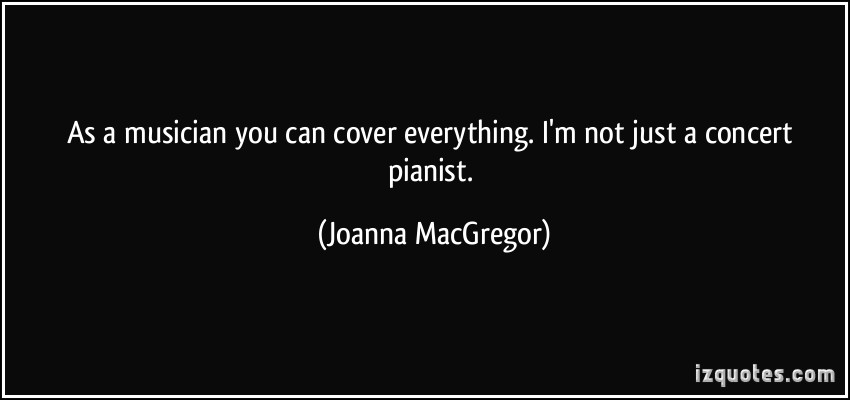 Concert Pianist quote
