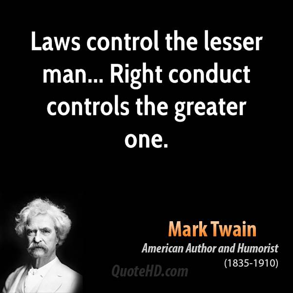 Conduct quote #3