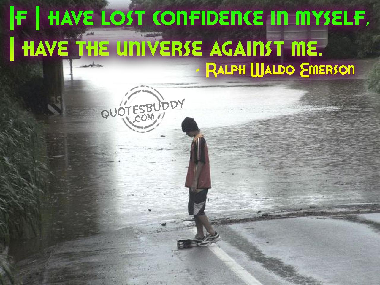 Confidant quote #1