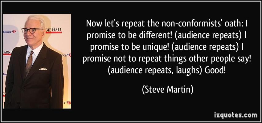 Conformists quote #2