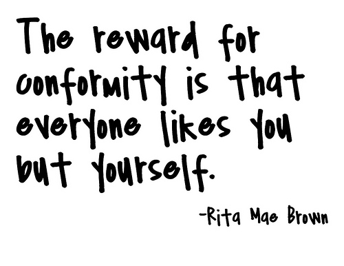 Conformity quote #1