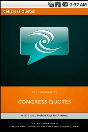 Congress quote #6