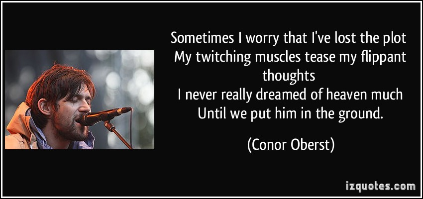 Conor Oberst's quote #7