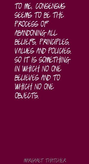 Consensus quote #5