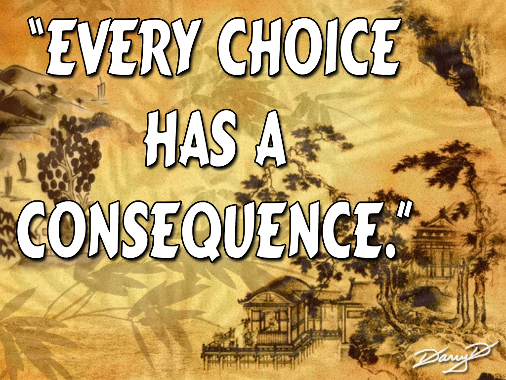 Famous Quotes About Consequence Sualci Quotes