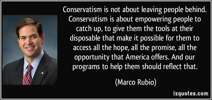 Conservatism quote