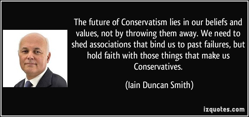 Conservative Values quote