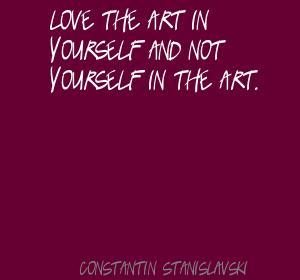 Constantin Stanislavski's quote #4