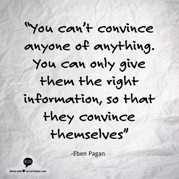 Convince quote #1