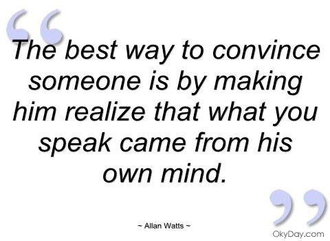 Convince quote #4