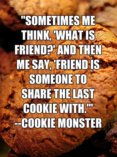 cookie monster quotes - 456×607